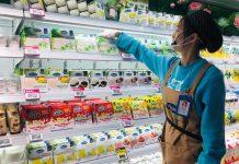 vinamilk có mặt tại chuỗi siêu thị Hema